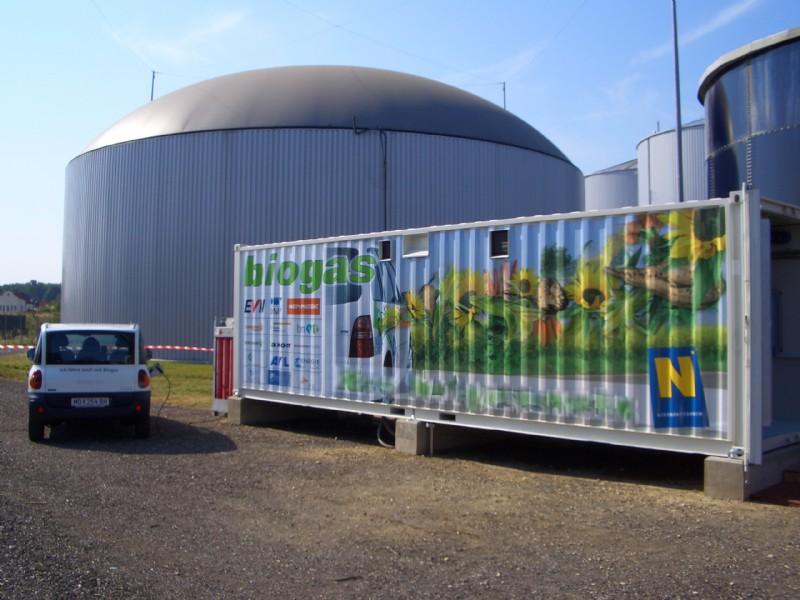 biogas-enrichment