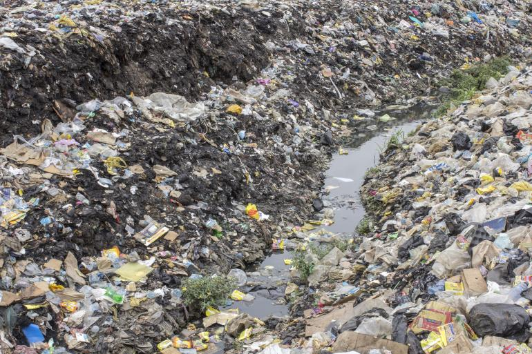 """garbage menace in our locality """"the area before the hmwssb overhead water tank in our locality has been  from this menace,  hyderabad/overflowing-garbage-bins-raise-a."""