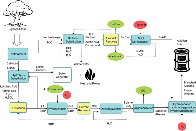 Drop In Fuels Schematic Jet Fuel Bioenergy Consult
