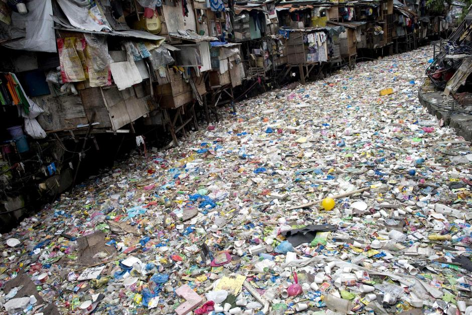 Plastic River, Manila